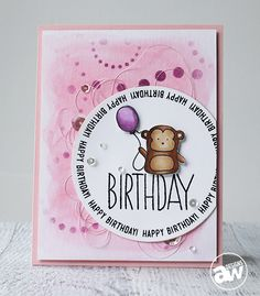 Such a Sweet Birthday card by  Andrea Walford  using Simon Says Stamp Exclusives.