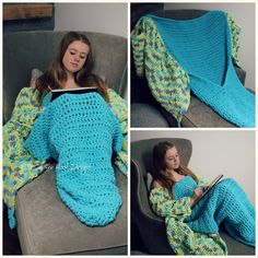 Ravelry: Butterfly Snuggie Blanket by MJ's Off The Hook Designs