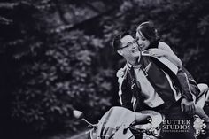 Engagement Photoshoot - Kim & Jackie - Motorbikes rock! :D Vancouver Wedding Photographer, Event Photographer, Engagement Pictures, Motorbikes, Butter, Wedding Photography, Museum, Photoshoot, Bride
