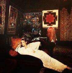 Twiggy Biba interior , London, c. 1970