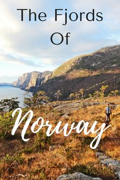 The fjords of Norway are stunning! And it's great place to actually get out on foot and explore. Are you interested in visiting the fjords of Norway? Then check out this post!! #travel #norway #fjordsofnorway #travelnorway #europetravel #wanderyourway #adventuretravel