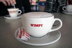 wimpy. I spent many an hour in the Wimpy !