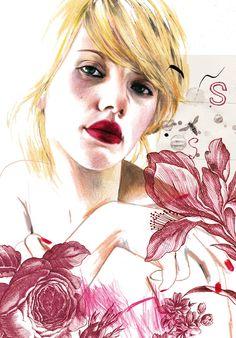 Montse Bernal illustration