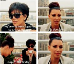 But Kris had the best shut down of all.   35 Iconic Kardashian Moments That Belong In A Damn Textbook