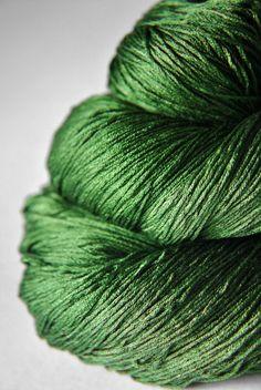 St. Patrick's day parade gone awry Silk Yarn Lace by DyeForYarn, €27.00