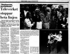 hot line riot from 1982 stockholm