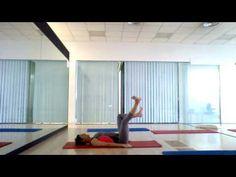 Disfruta del movimiento y cuida tu cuerpo con esta sesión de Pilates suelo. Espero que os guste