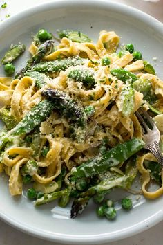 Pasta Primavera With Asparagus and Peas Recipe - NYT Cooking