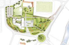 Art School – Carcassonne,Site Plan