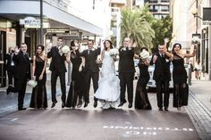 Perth city bride dressed by Bridal by Aubrey Rose