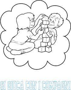 A Scuola con Poldo: Cartelloni delle regole Learning Italian, Preschool, Clip Art, Home Decor, Google, Routine, Behance, Classroom, Calendar
