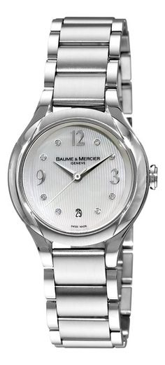 Baume & Mercier Ilea Women's Watch. Available through our Brand Name Watches auction, live now!