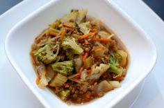 Spicy Korean Noodle Soup