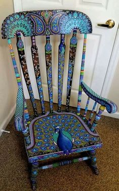 85 Best Funky Painted Furniture Images