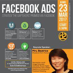 Tiket Mini Workshop Facebook Ads 1 Hari Lg Menuju Kota Solo Bagi Yang Belum Memiliki Tiket Workshopnya Silahkan Hub Wa : 08158165028