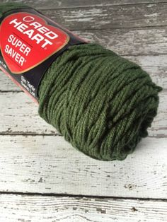 New Red Heart Super Saver Yarn Worsted Weight by MoomettesCrochet