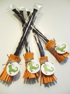 Sincerely, Babette: Licorice Brooms