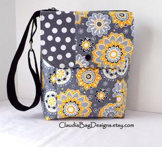 Metro Messenger Bag - limited edition bags by ClaudiaBagDesigns, $38.00 - SOLD
