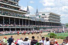 El Derby de Kentucky. Carreras de caballos, con una historia de 133 años.