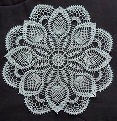 2 designs CrochetPattern forSwan Doilies 754