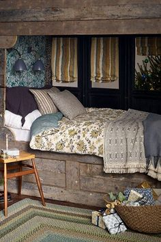 Christmas Decorating Ideas for Bedrooms on HOUSE. 10 decorating ideas for bringing Christmas into your bedroom, from bold and modern to cosy and rustic