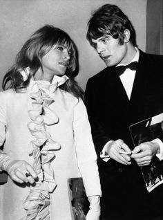 Julie Christie and Don Bessant