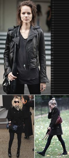 I am really into the all black look. The What Not to Wear crew would kill me, I know.