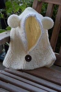 Teddy Bear Cowl Free Crochet Pattern