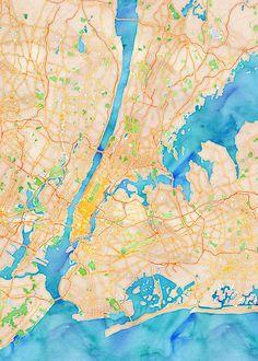 Map Stack | Stamen Design - New York