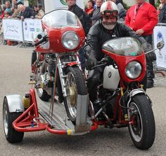 Sidecar to haul your other bike...