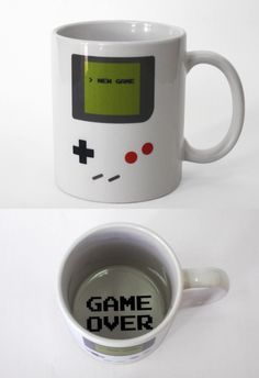 Game Boy Cup... I need it!!! <3