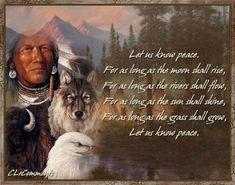 Native American proverb