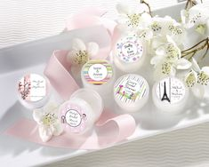 Personalized Wedding Favor Ideas