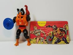 Vintage He-Man MOTU Masters of the Universe Action Figure Stinkor Complete Toy #Mattel
