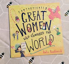 An #internationalwomensday purchase  An adorable non-fiction book about inspirational women! #greatwomenwhochangedtheworld