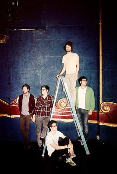 Passion Pit. OMG I love this band. You just can't help but dance!