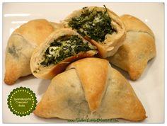 Spanikopita Crescent Roll appetizer - yum!