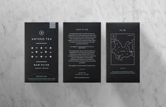 Anteeo Tea Company — The Dieline - Package Design Resource