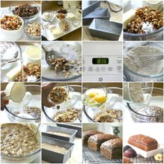Make a sweet loaf of fig & date nut bread perfect with tea or coffee for a nutritious breakfast or snacking. This easy recipe for quick bread is full of flavor! Cake Recipes For Kids, Fig Recipes, Healthy Cake Recipes, Sweet Recipes, Keto Recipes, Recipies, Nut Bread Recipe, Banana Bread Recipes, Fig Nutrition