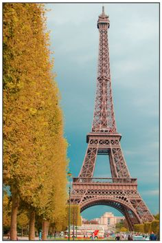Autumn in Paris....want to go and eat wonderful pastries and sip coffee while looking at this.....someday!!!