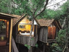 #ECOHOTELS #SWD #GREEN2STAY Phantom Forest Eco Reserve  Sleep Under the Stars in these South African treehouses. - http://www.green2stay.com/middleeast-africa-eco-hotels