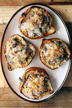 Greek Stuffed Acorn Squash (Vegetarian) - Some the Wiser