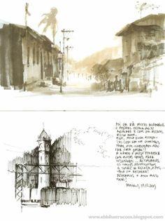 Urban Sketchers: Paranapiacaba - Brazil