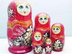 Matroesjka-Baboesjka-Russische Poppen