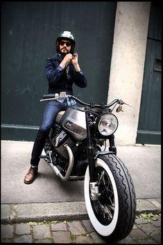 Resultado de imagen de moto guzzi v7 stone cafe racer