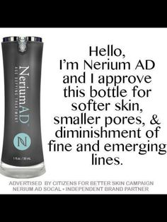 You have to try it to believe it! Order your first bottle today! www.annemarieseablom.nerium.com