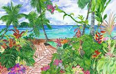 Pathway in Paradise