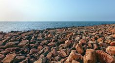 Beach Photograph - Colored Large Stones On The Beach by Sergey Nosov #SergeyNosov #Photography #ArtForHome #FineArtPrints #InteriorDesign #Canvas #FramedPrints #Prints #AcryllicPrint #MetalPrint #GreetingCards #iPhoneCases
