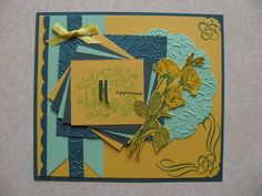 yellow roses by genistamps - Cards and Paper Crafts at Splitcoaststampers
