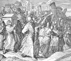 Bilder der Bibel - Eroberung Jerichos